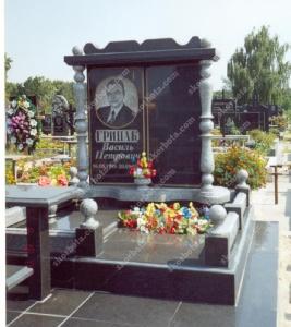 Памятник № A073 Памятник гранитный