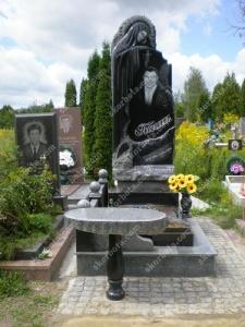 Памятник № A117 Памятник гранитный