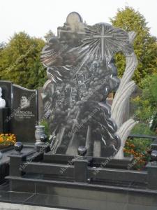 Памятник № A114 Памятник гранитный