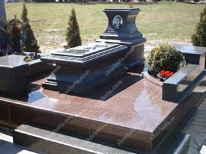 Памятник № A040 Памятник гранитный