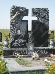 Памятник № A121 Памятник гранитный