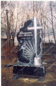 Памятник № A072 Памятник гранитный