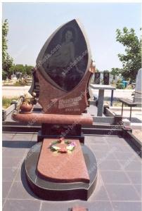 Памятник № A074 Памятник гранитный