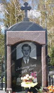 Памятник № A058 Памятник гранитный